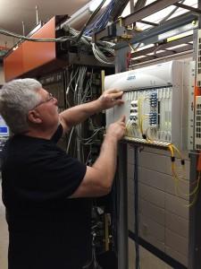 Atlas Telephone Company behind the scenes.